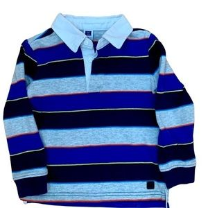 Janie and Jack Long Sleeved Rugby Shirt Size 3